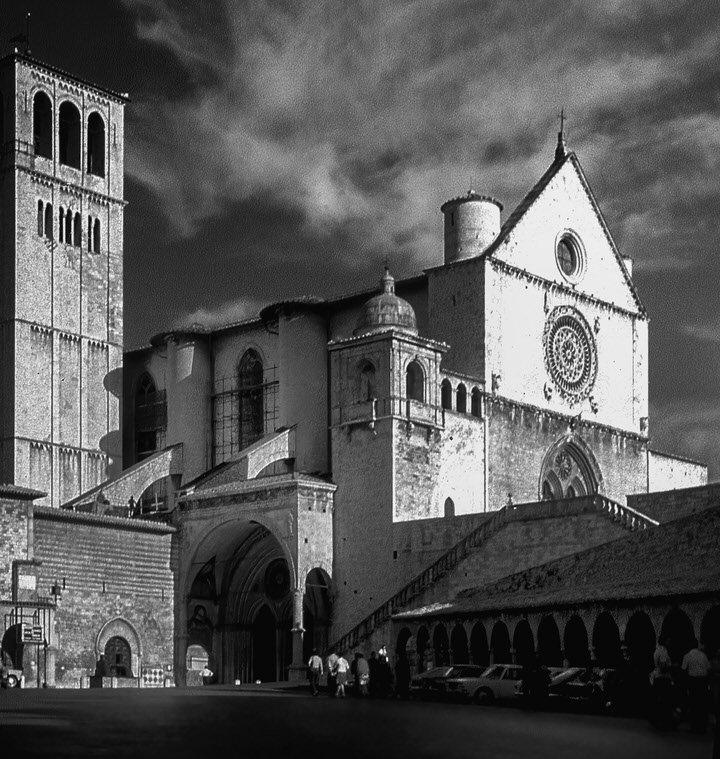 Assisi 1976 -David P. Stewart Milton Keynes Photographer